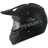 Shark Explore-R Helmet  Black