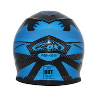 Zox Matrix Carbon Abyss Helmets Blue 2