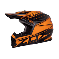 Zox Matrix Carbon Abyss Helmets Orange