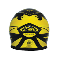 Zox Matrix Carbon Abyss Helmets Yellow 2