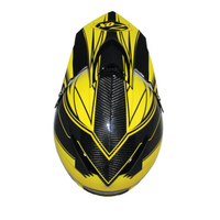 Zox Matrix Carbon Abyss Helmets Yellow 1