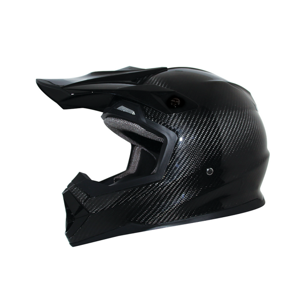 Zox Matrix Carbon Solid Helmets Black