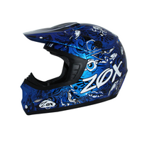 Zox Rush Junior Sharpie Helmets Blue