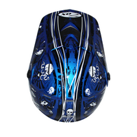 Zox Rush Junior Sharpie Helmets Blue 1