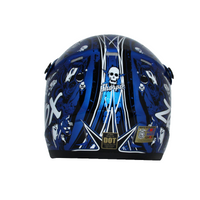 Zox Rush Junior Sharpie Helmets Blue 2