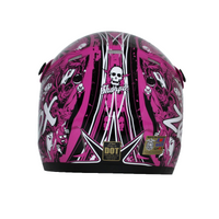 Zox Rush Junior Sharpie Helmets Pink 2