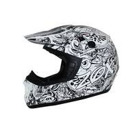 Zox Rush Junior Sharpie Helmets Silver