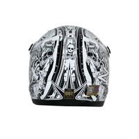 Zox Rush Junior Sharpie Helmets Silver 2