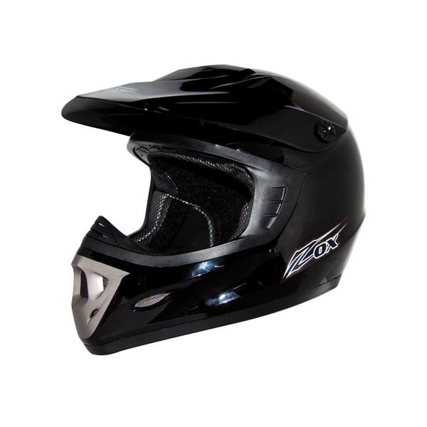 Zox Rush Junior Solid Helmets Black