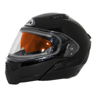 Zox Condor Svs Snow Electric Shield Solid Helmets Black