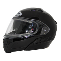 Zox Condor Svs Snow Electric Shield Solid Helmets Black 1