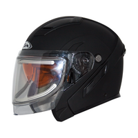 Zox Condor Svs Snow Electric Shield Solid Helmets Black 2