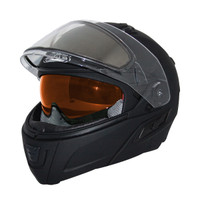 Zox Condor Svs Snow Electric Shield Solid Helmets Black 3