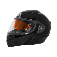 Zox Condor Svs Snow Double Shield Solid Helmets Black 1