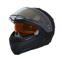 Zox Condor Svs Snow Double Shield Solid Helmets Matte Black 2