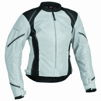 Firstgear Mesh Tex Womens Jacket Silver