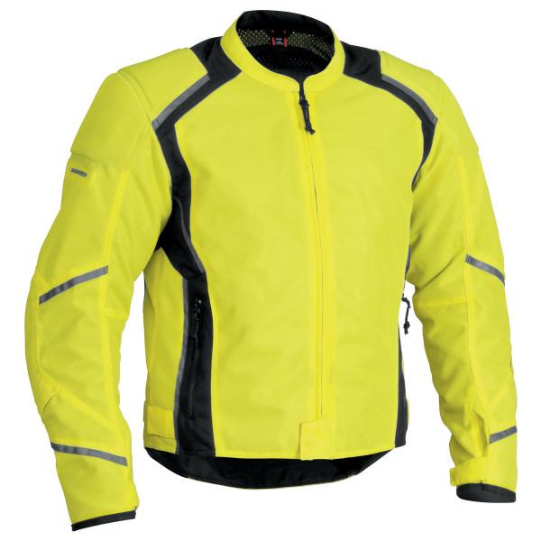 Firstgear Mesh-Tex Jacket Yellow