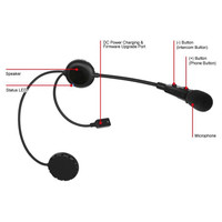 Sena 3S-B Bluetooth Headset - Boom Microphone 3