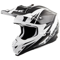 Scorpion VX-35 Krush Helmet Black/White
