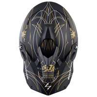 Scorpion VX-35 Golden State Helmet Black/Gold1