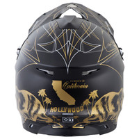Scorpion VX-35 Golden State Helmet Black/Gold3