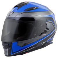 Scorpion EXO-T510 Tarmac Helmet Blue