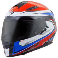 Scorpion EXO-T510 Tarmac Helmet Red