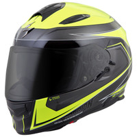 Scorpion EXO-T510 Tarmac Helmet Yellow