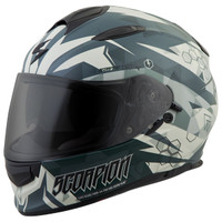 Scorpion EXO-T510 Cipher Helmet Green