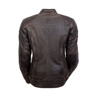 Scorpion Catalina Women's Leather Jacket Back SIde