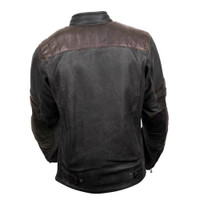 Scorpion 1909 Leather Jacket Back SIde
