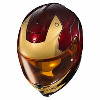 HJC IS-17 Iron Man Helmet Red 5