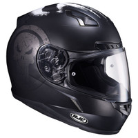 HJC CL-17 Punisher Helmet Matte Black 2
