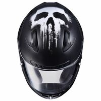 HJC CL-17 Punisher Helmet Matte Black 3