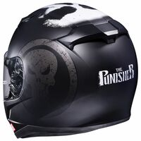 HJC CL-17 Punisher Helmet Matte Black 5