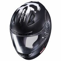 HJC CL-17 Punisher Helmet Matte Black 4