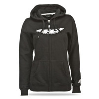 Fly Racing Corporate Women's Hoody Black