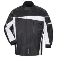 Tour Master Defender 2.0 Two Piece Rain Suit Black