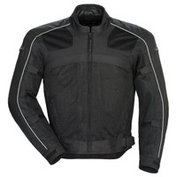 Tour Master Draft Air 3 Jacket Black Front
