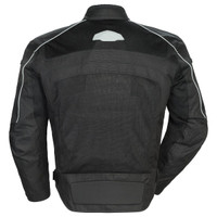 Tour Master Draft Air 3 Jacket Black Back