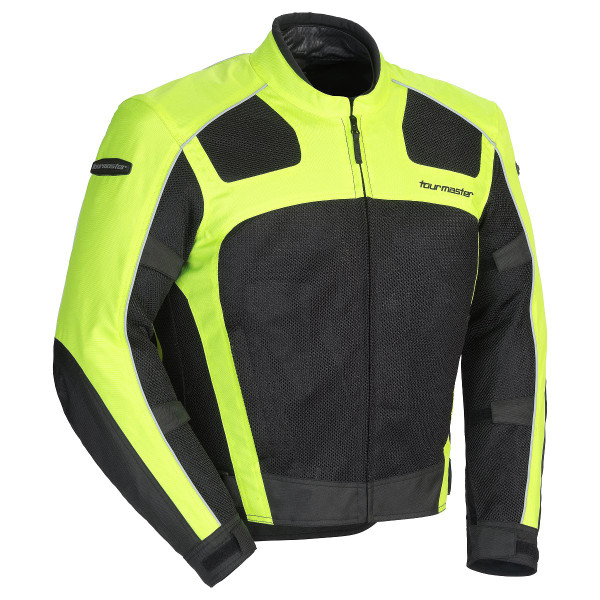 Tour Master Draft Air 3 Jacket Hi Viz Front