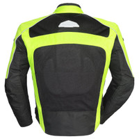 Tour Master Draft Air 3 Jacket Hi Viz Back