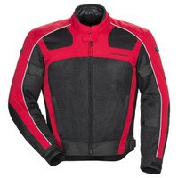 Tour Master Draft Air 3 Jacket Red Front