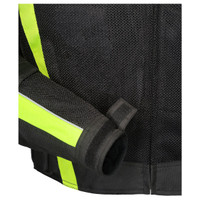 Tour Master Draft Air 3 Jacket Hi Viz Wrist Closure