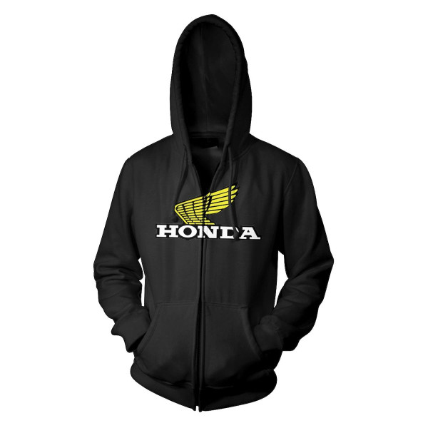 Honda Wing Hoody Black