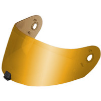 HJC HJ-20M Pinlock-Ready Face Shield RST Mirror Gold