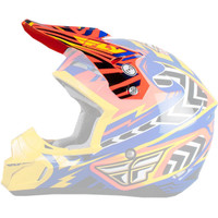 Fly Racing Kinetic Andrew Short Replica Helmet Visor