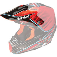 Fly Racing F2 Carbon Trey Canard Helmet Visor Orange