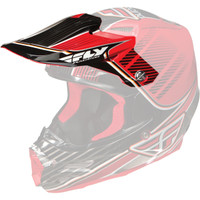 Fly Racing F2 Carbon Trey Canard Helmet Visor Red