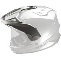 Fly Racing Replacement Visor for Trekker DS Helmet - 2015 Silver
